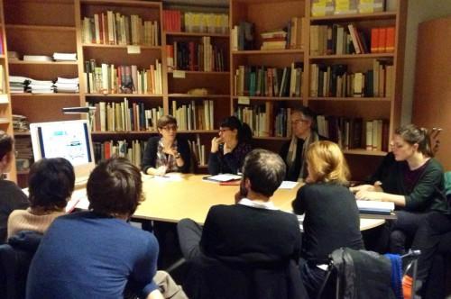 Séance du séminaire Image Projective 2013 ( LHIVIC, EHESS)
