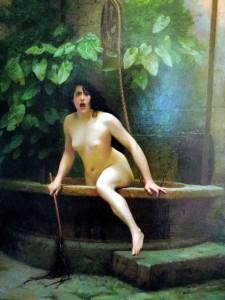 """Gérome, """"La Vérité sortant du puits"""", 1896"""