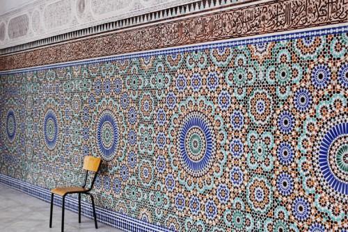 La Grande Mosquée de Paris. Crédit photo : Noémie Cédille.